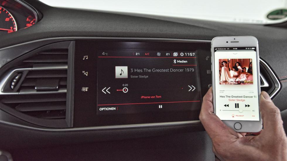 Peugeot 308 GTi navegador