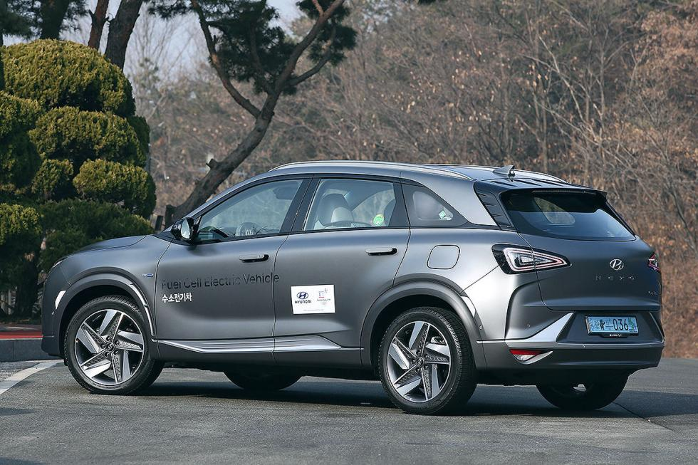 Prueba del Hyundai Nexo