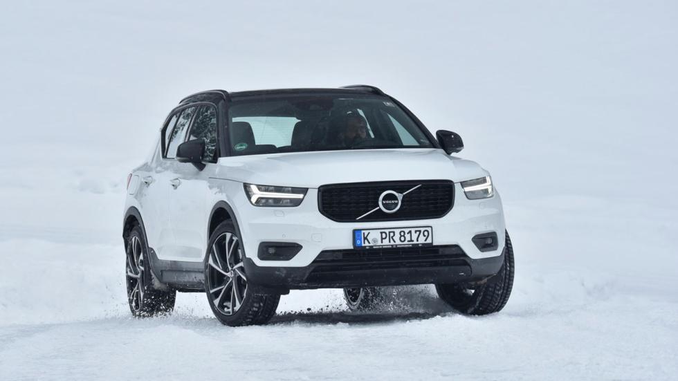 Prueba Volvo XC40 D4 nieve