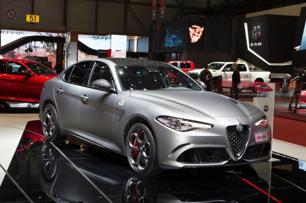 Alfa Romeo Giulia y Stelvio Quadrifoglio NRING