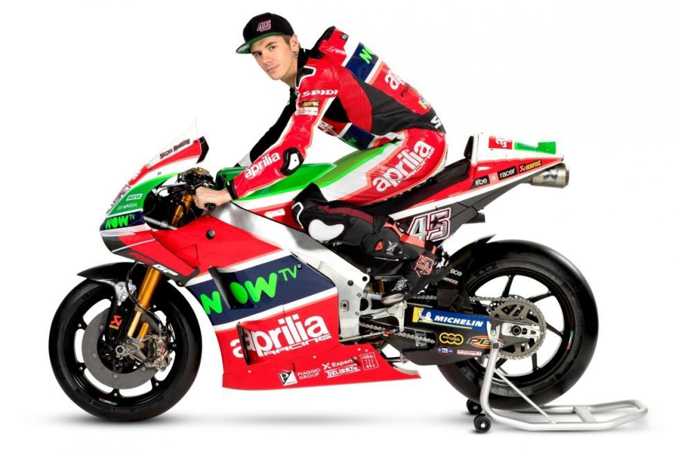 Presentación Aprilia MotoGP 2018
