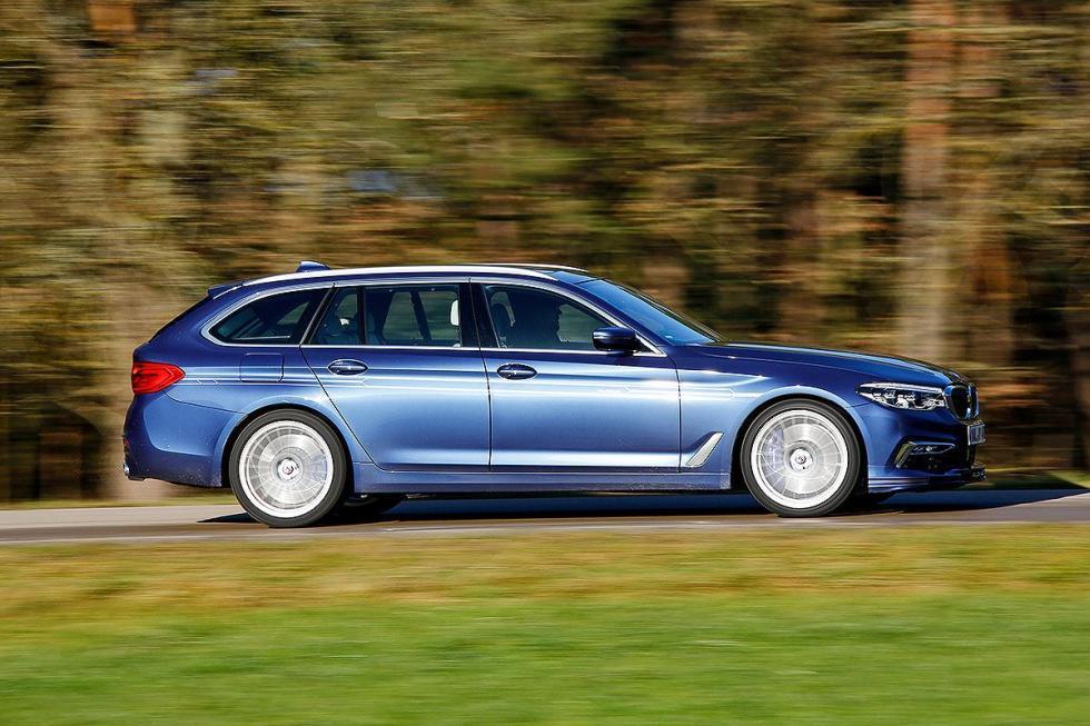 Prueba del BMW Alpina B5 Biturbo Touring Allrad