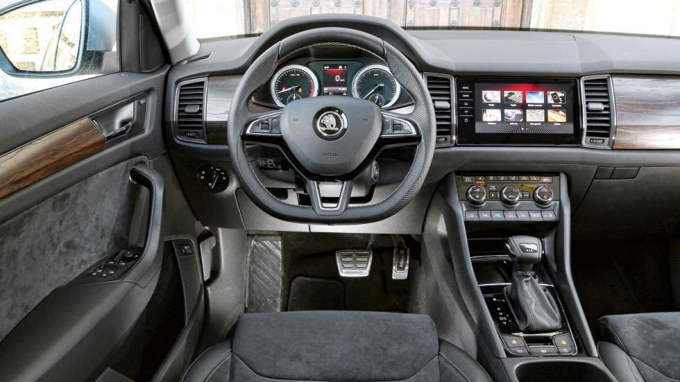 Prueba Skoda Kodiaq Scout 1.4 TSI 150 CV AWD DSG