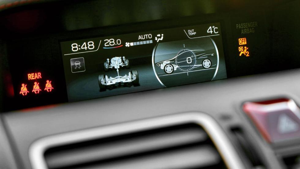 Prueba Subaru WRX STi 2018