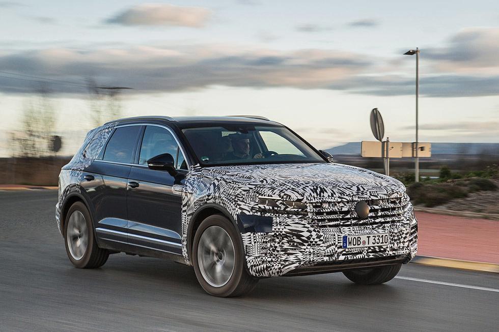 Volkswagen Touareg 2018 prototipo