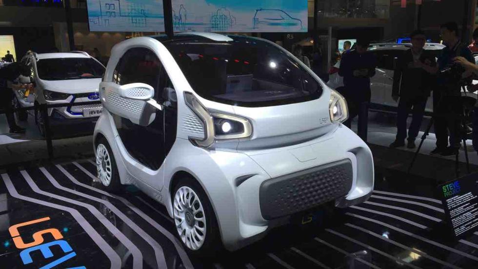 JAC LS EV, un Renault Twizy a lo chino