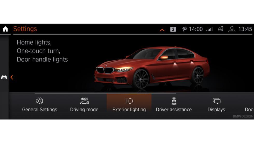 Nueva interfaz BMW Operating System 7.0