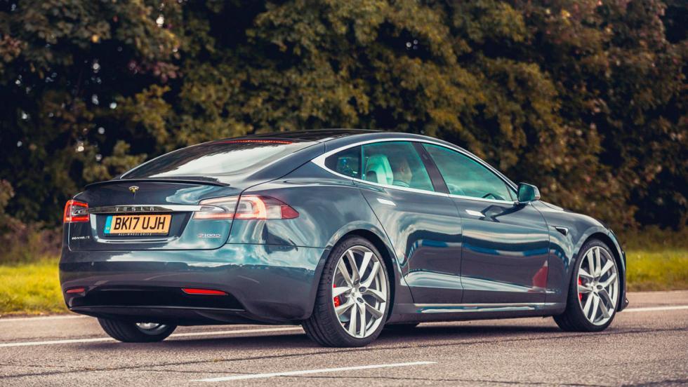 Tesla Model S P100D: 0-100 km/h en 2,5 s.