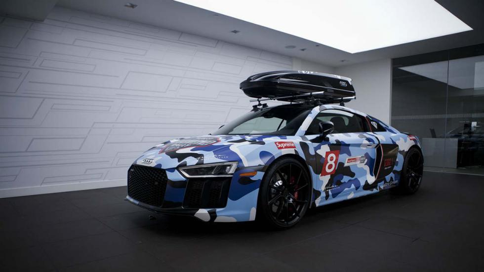 Audi R8 vinilo camuflaje