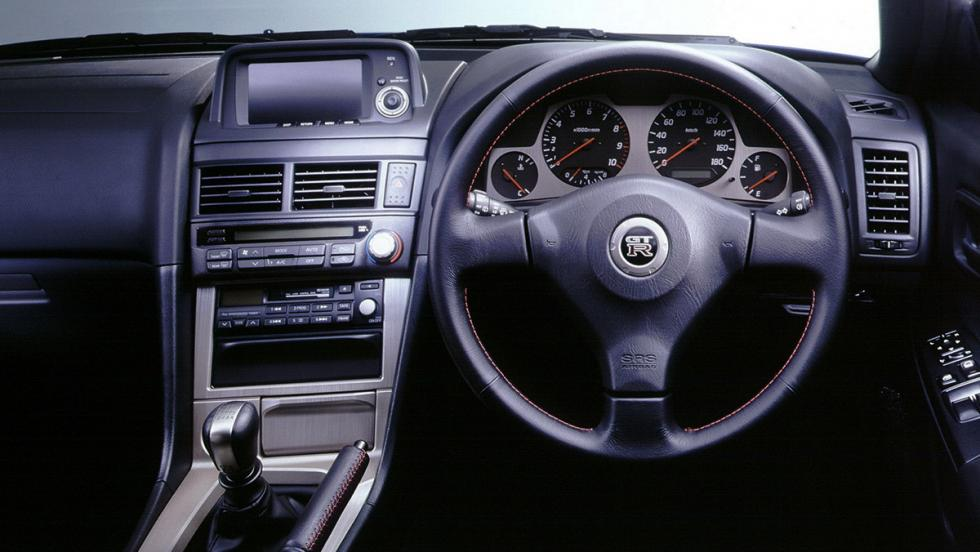 Coches para frikis - Nissan Skyline R34 RHD