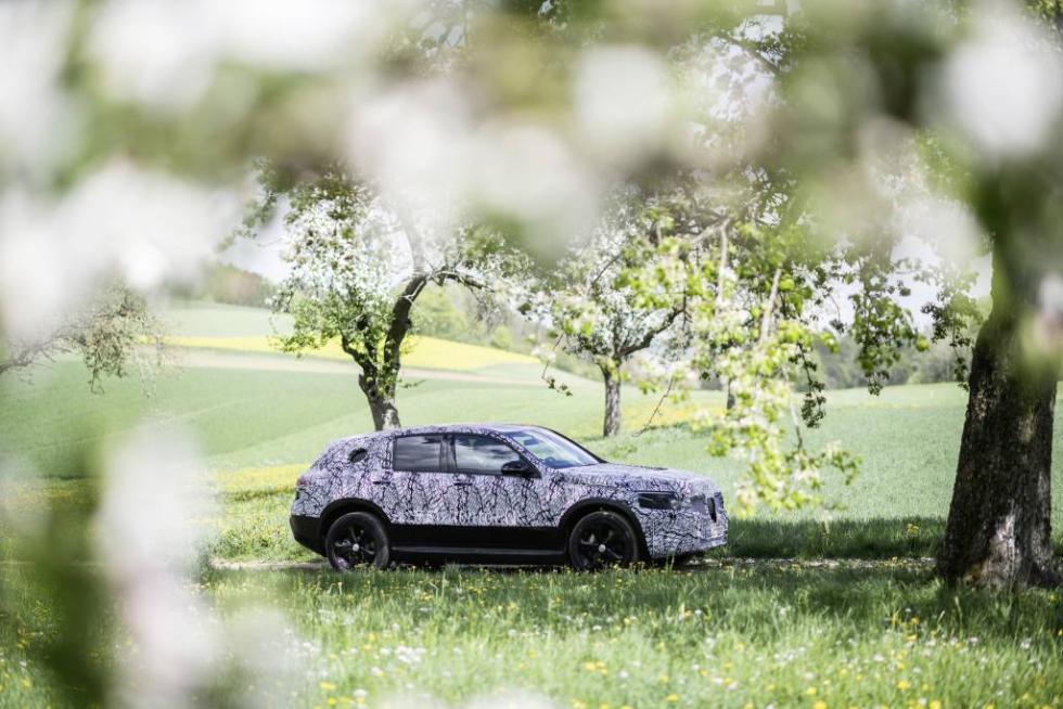 Mercedes EQC test