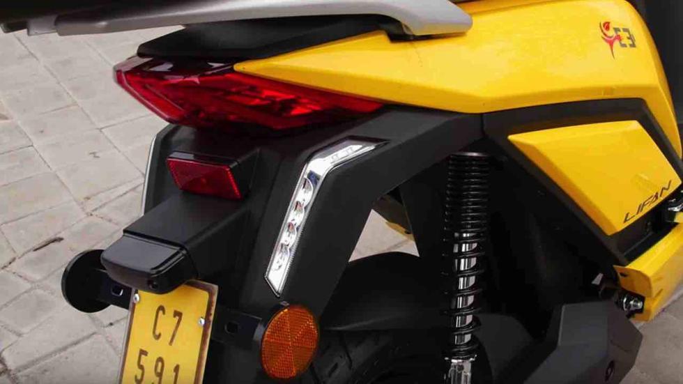 Prueba Lifan E3 ciclomotor eléctrico
