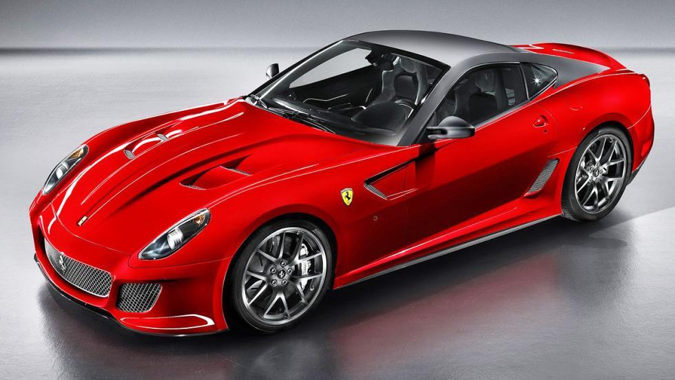 Los coches de Cristiano Ronaldo - Ferrari 599 GTO