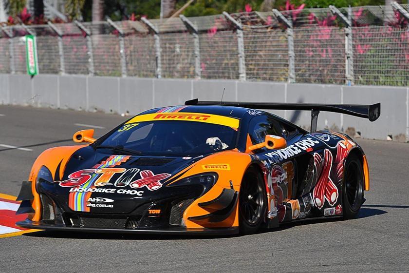 Coches que debutaron en Goodwood: McLaren 650S GT3