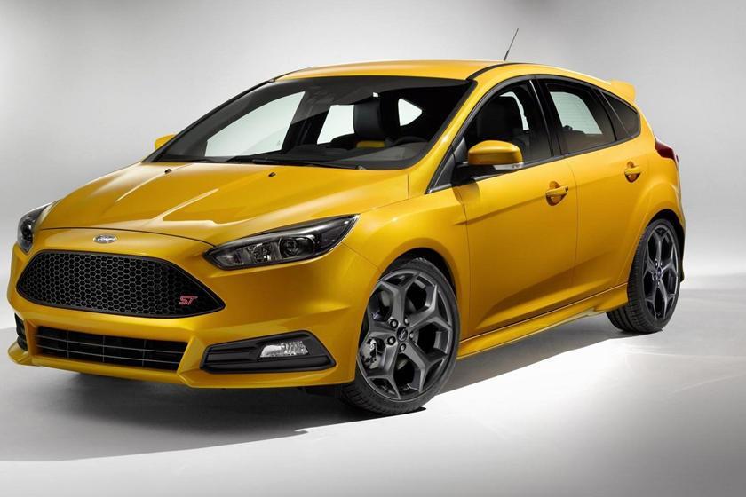 Coches que debutaron en Goodwood: Ford Focus ST