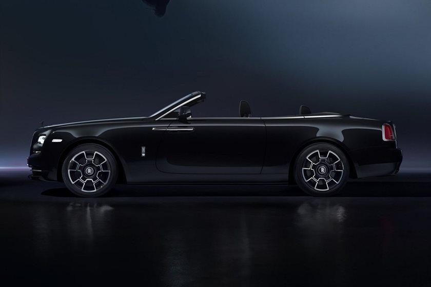 Coches que debutaron en Goodwood: Rolls Royce Dawn Black Badge