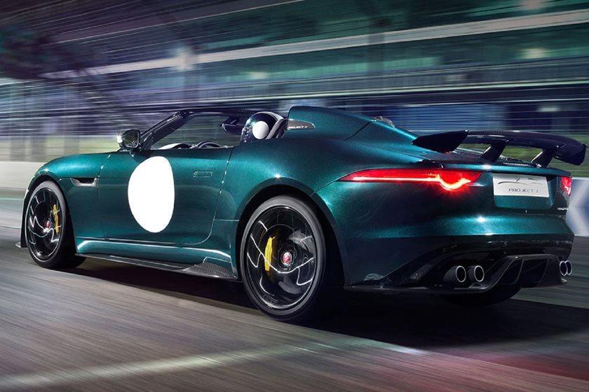 Coches que debutaron en Goodwood: Jaguar Project 7