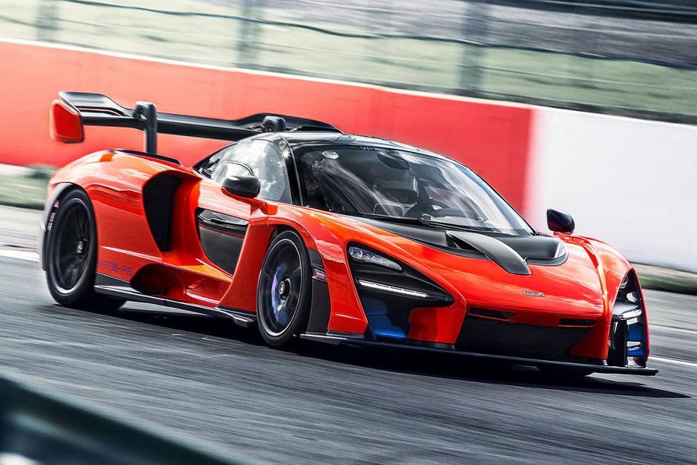 Prueba del McLaren Senna