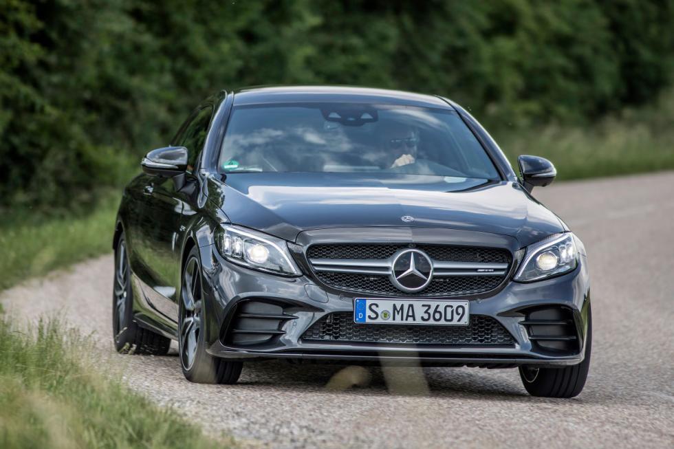 Prueba del Mercedes AMG C 43 Coupé facelift 2018