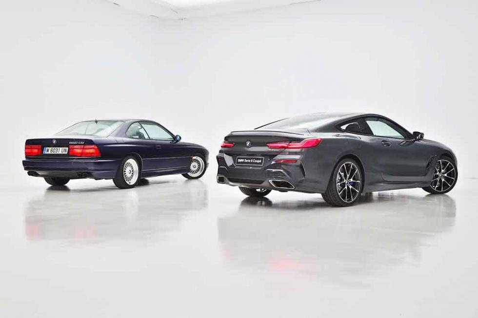 BMW Serie 8 Coupé 2018 vs BMW 850 CSi 1989