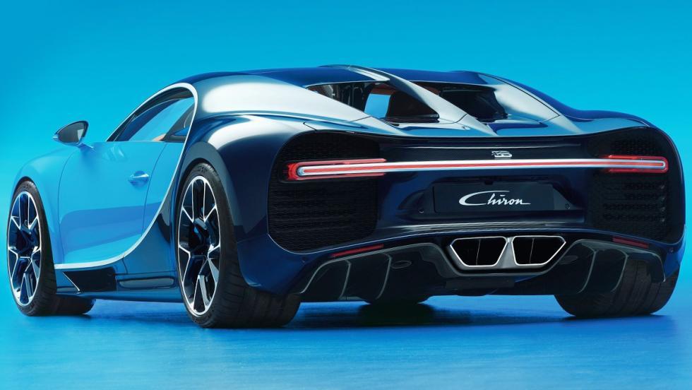 Los coches que más se han revalorizado en menos tiempo - Bugatti Chiron