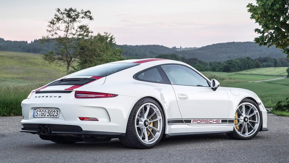 Los coches que más se han revalorizado en menos tiempo - Porsche 911 R