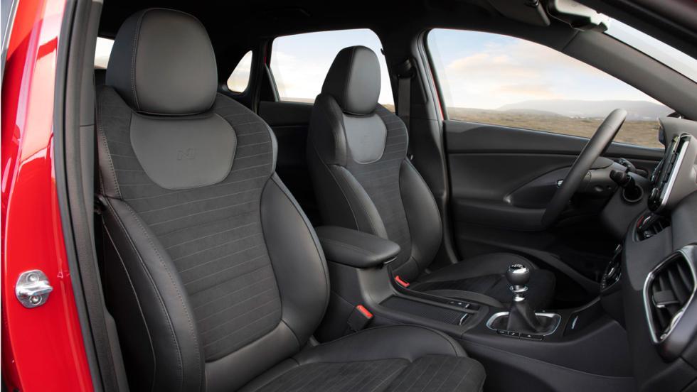 Hyundai i30 N Line (asientos)