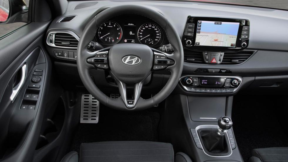 Hyundai i30 N Line (interior)