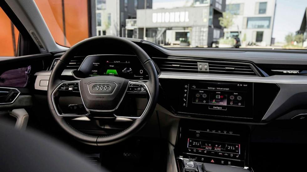 Interior del Audi e-tron