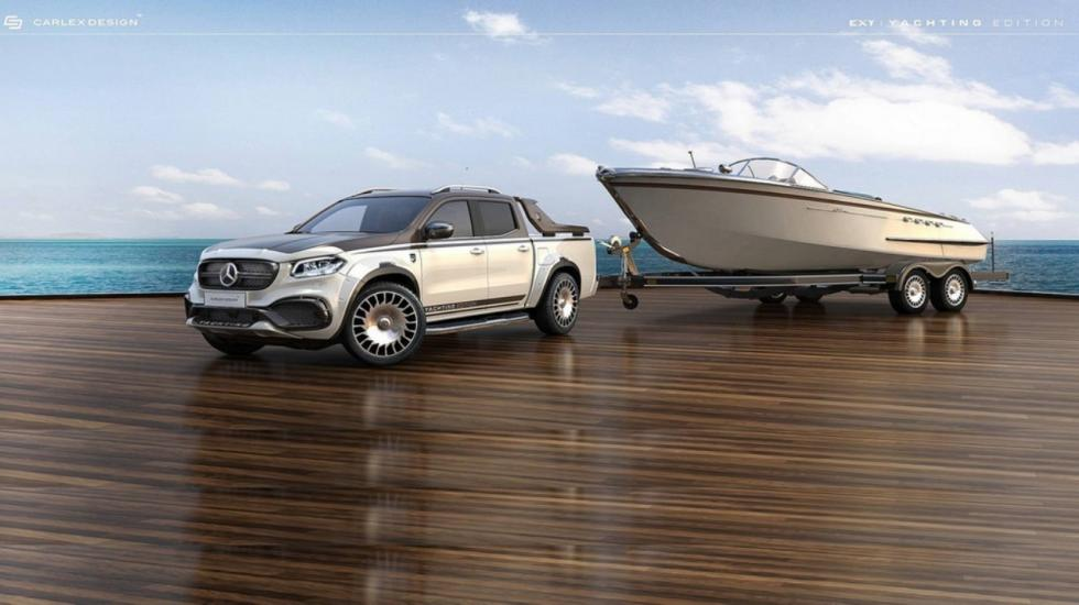 Mercedes Clase X Yachting Edition