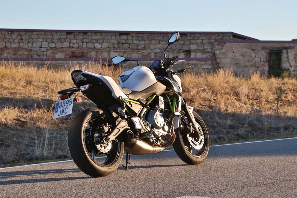 Prueba nueva Kawasaki Z650