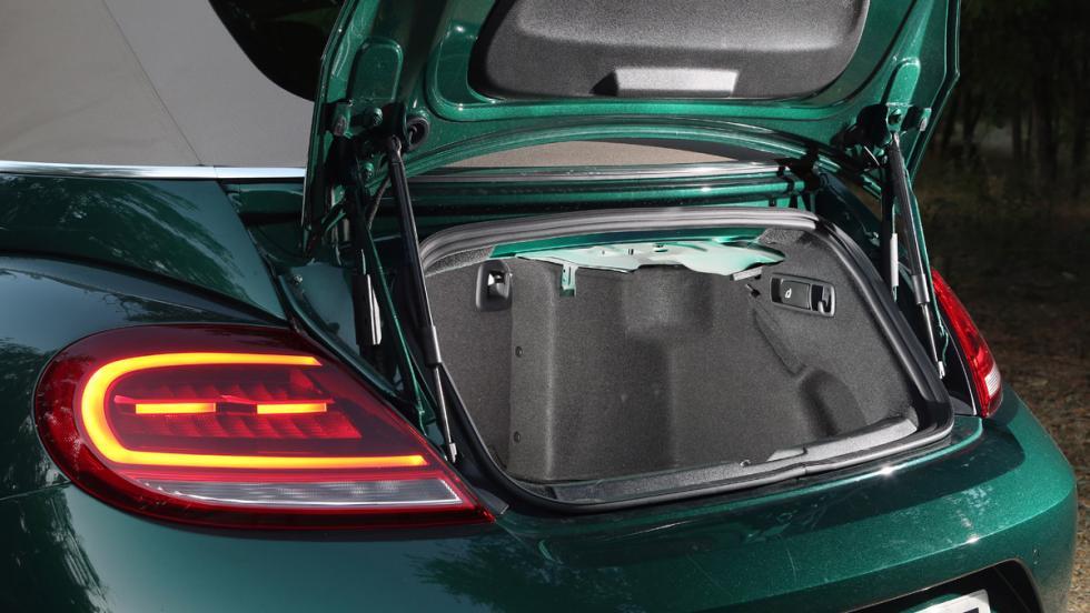Prueba Volkswagen Beetle Cabrio (maletero)