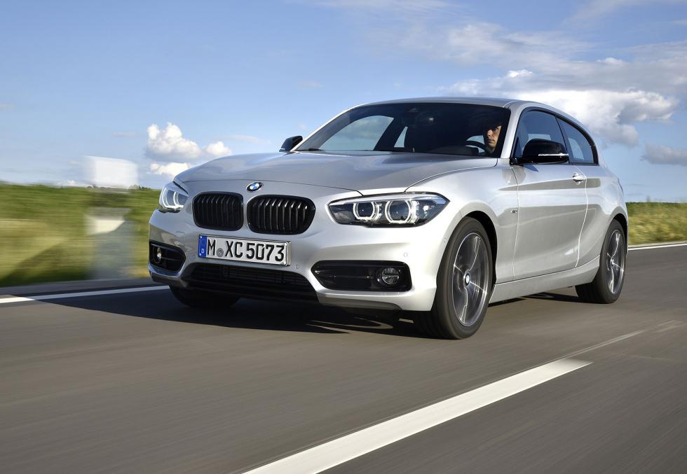 Los tres rivales del Seat León SC FR: BMW Serie 1 de tres puertas