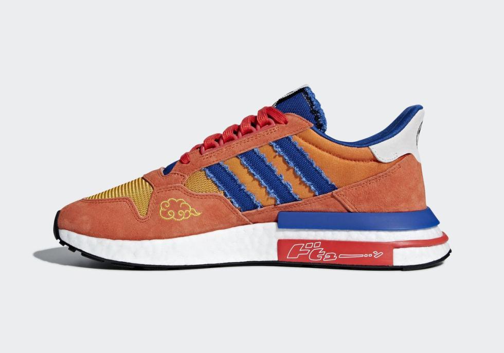 Zapatillas Adidas inspiradas en Dragon Ball: Goku y Frieza