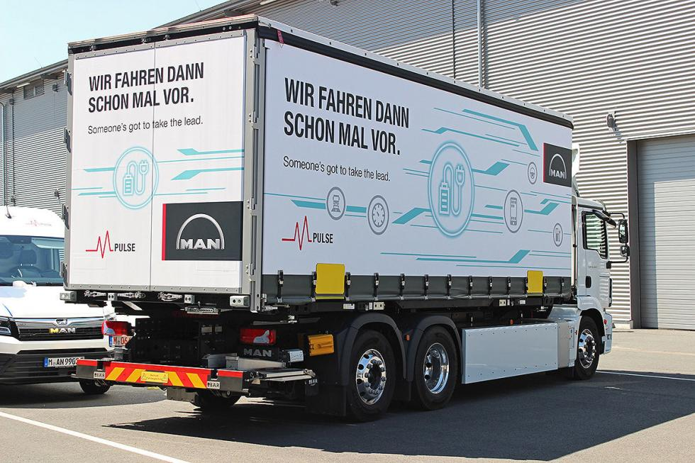 Camión eléctrico de MAN