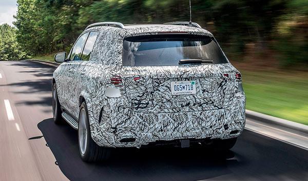 El futuro Mercedes GLE