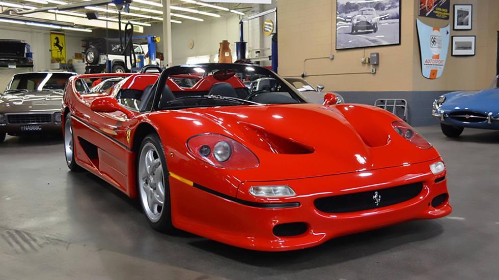 Primer Ferrari F50 de producción a la venta