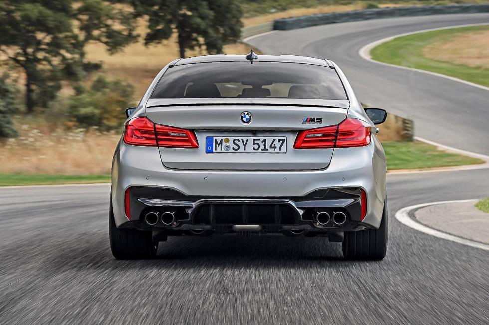 Prueba: BMW M5 Competition