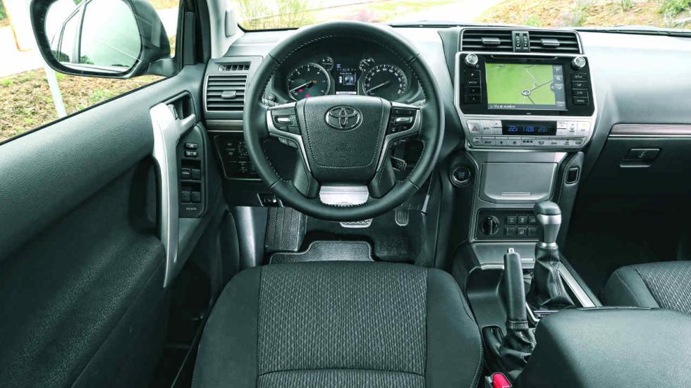 Prueba Toyota Land Cruiser 150 VXL 5 puertas