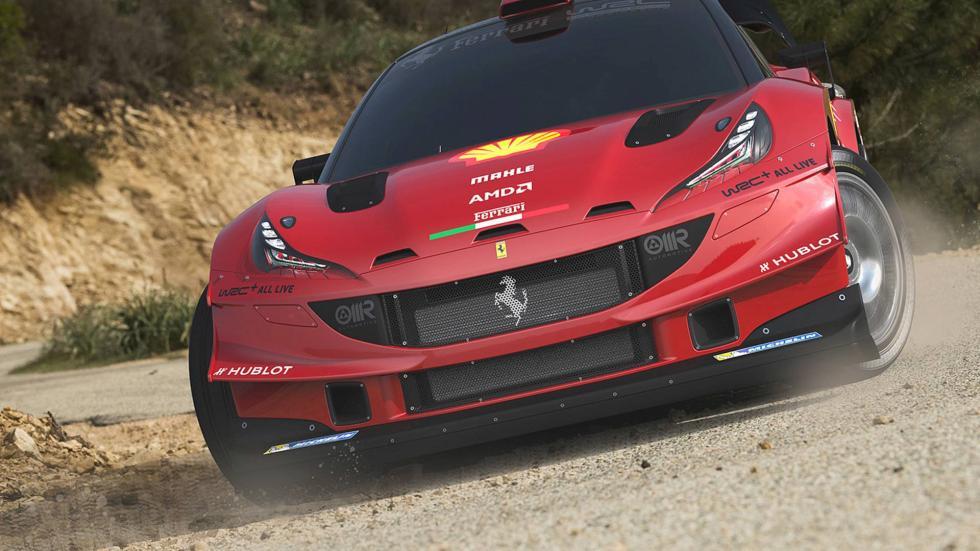 Si Ferrari produjese un compacto, ¿sería así?