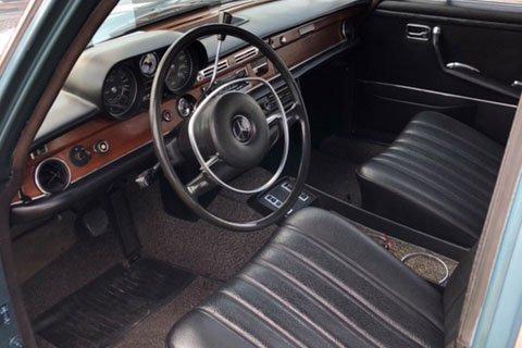 A subasta el Mercedes 280 SEL de 1971 de Elvis Presley