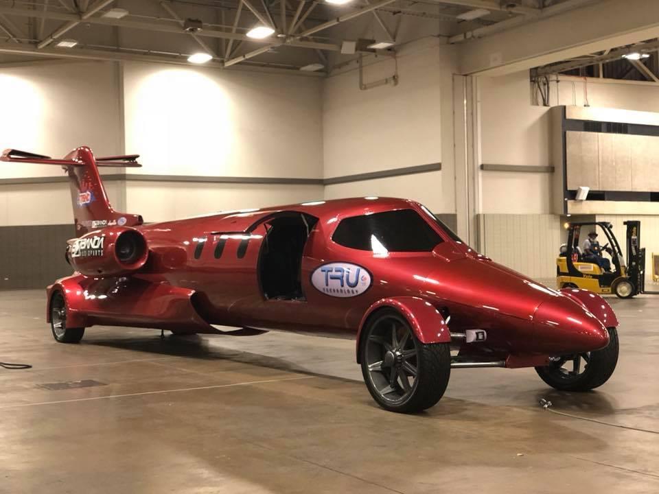 Transforman un jet privado en una impresionante limusina (¡homologada!)