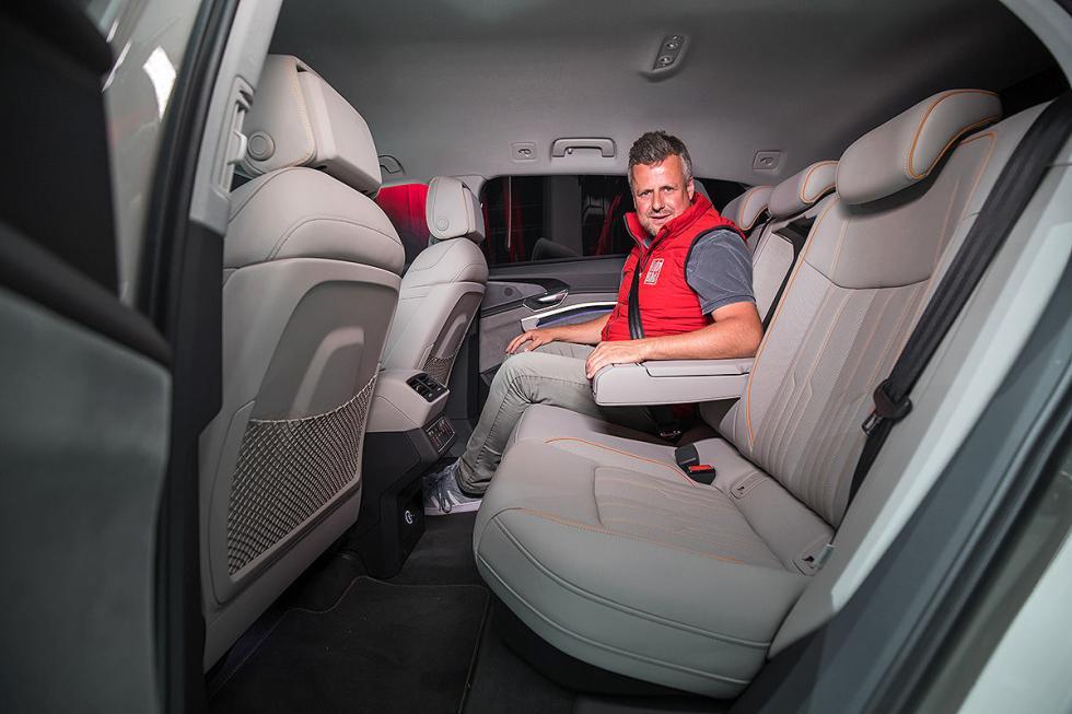 Vuelta en el Audi e-tron