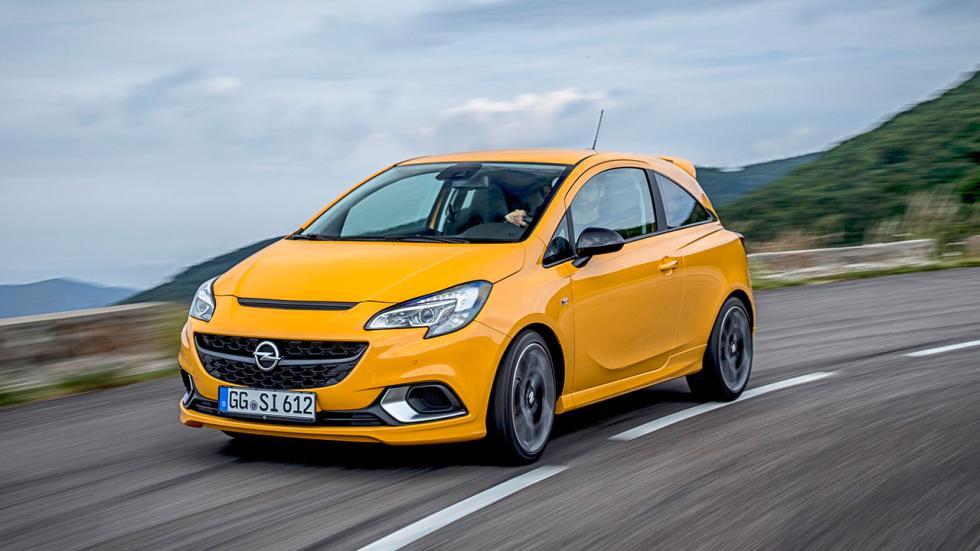 Frontal Opel Corsa GSi