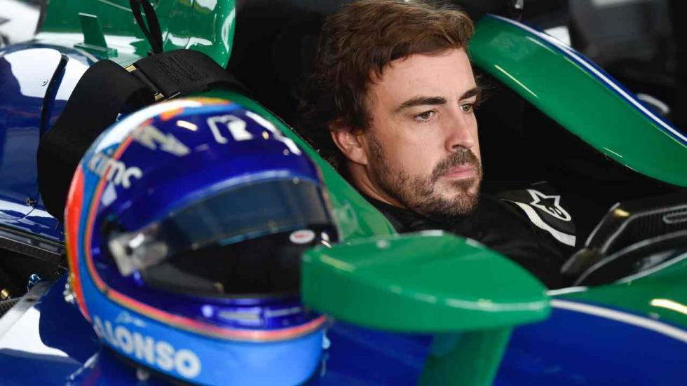Test Alonso Indycar