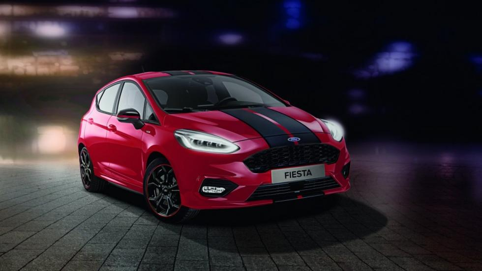 Ford Fiesta ST-Line Red and Black Edition