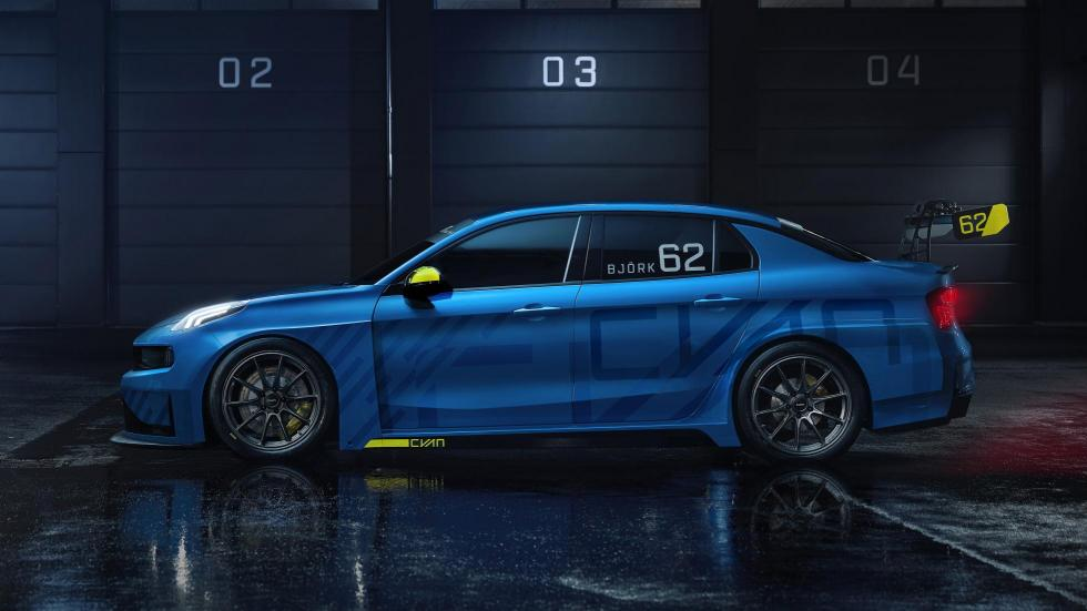 Lynk Co 03 Cyan Racing Concept WTCR (lateral)