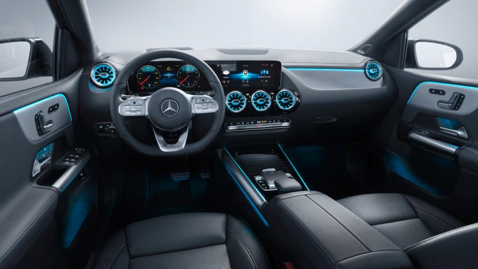 Mercedes Clase B 2019 (interior)