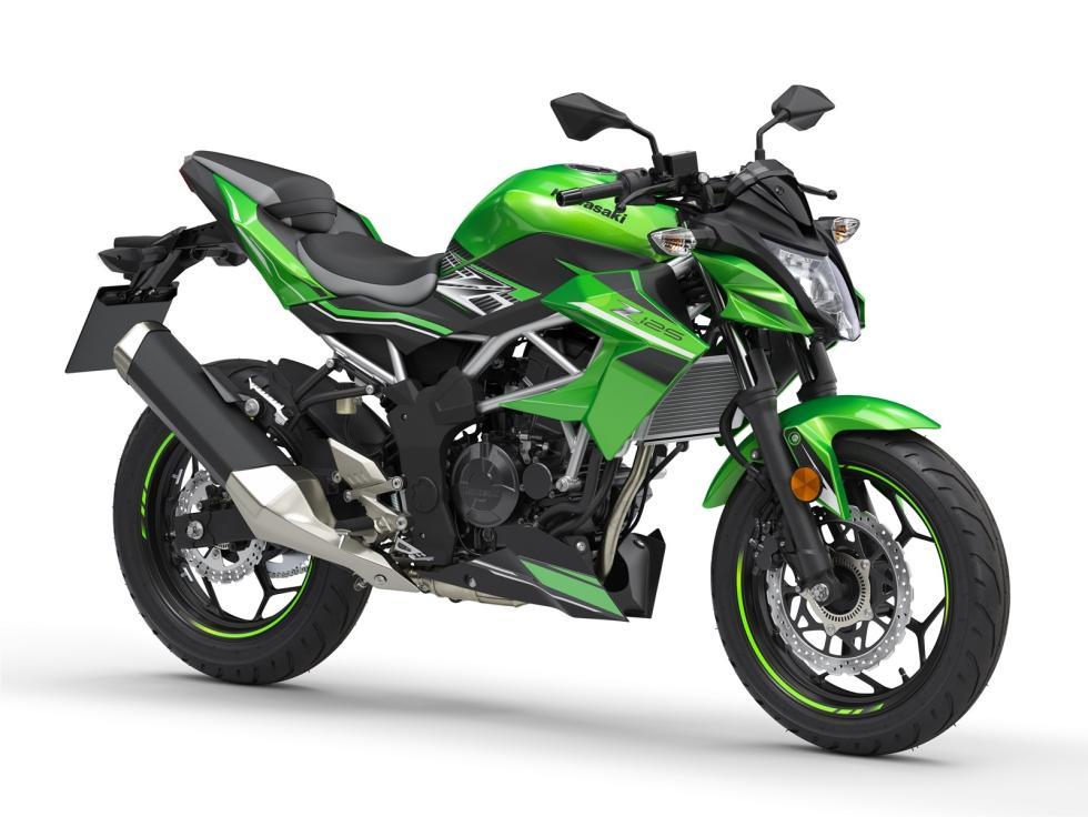 Nueva Kawasaki Z125 2019