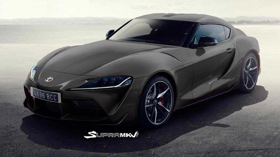 Nuevo Toyota Supra render (gris)